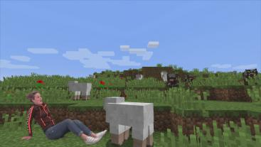 Nienke in Minecraft