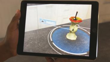 augmented reality 2 poms
